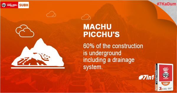 Did You Know - 7Ka Dum - Machu Picchu's -Emami Cement