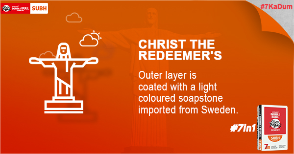 Did You Know -7Ka Dum - Christ The Redeemer's - Emami Cement